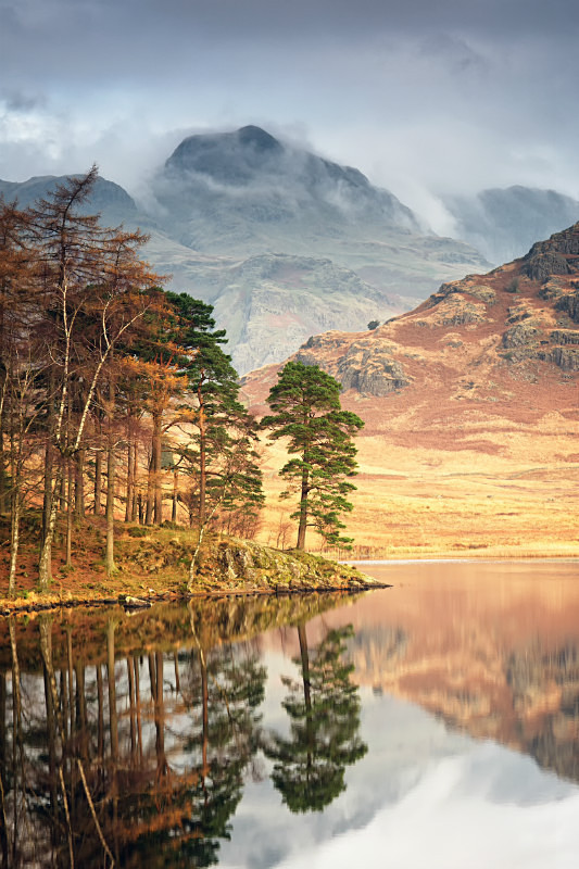 Reflections on Blea Tarn during Lake District  photography Courses