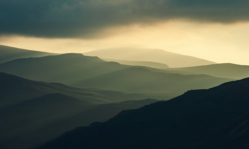 Matterdale light - Lake District