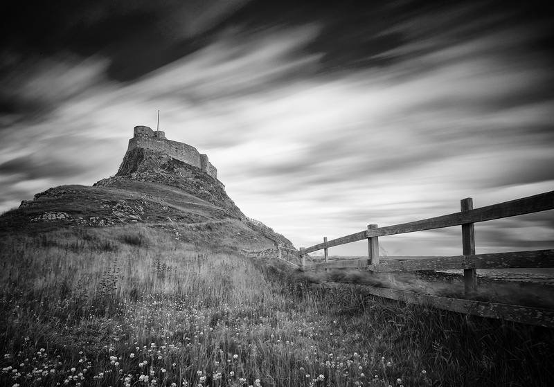 Lindisfarne Castle - Monochrome