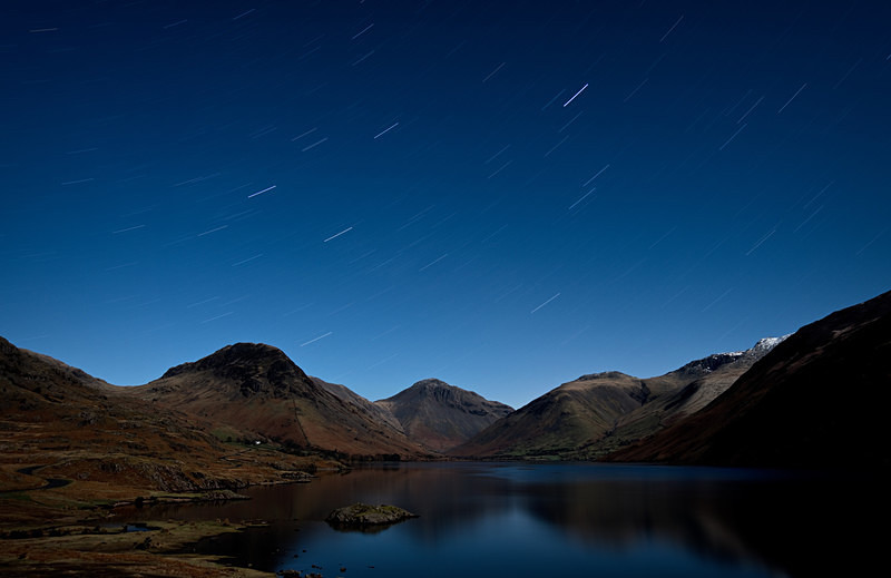 Lake District photography courses, workshops and  tours Wasdale, 2am