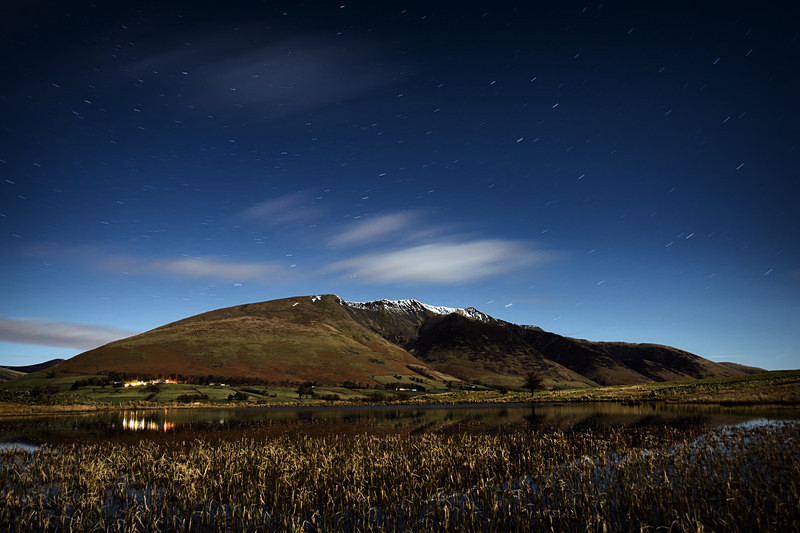 Lake District photography courses, workshops and  tours Blencathra - Starlit