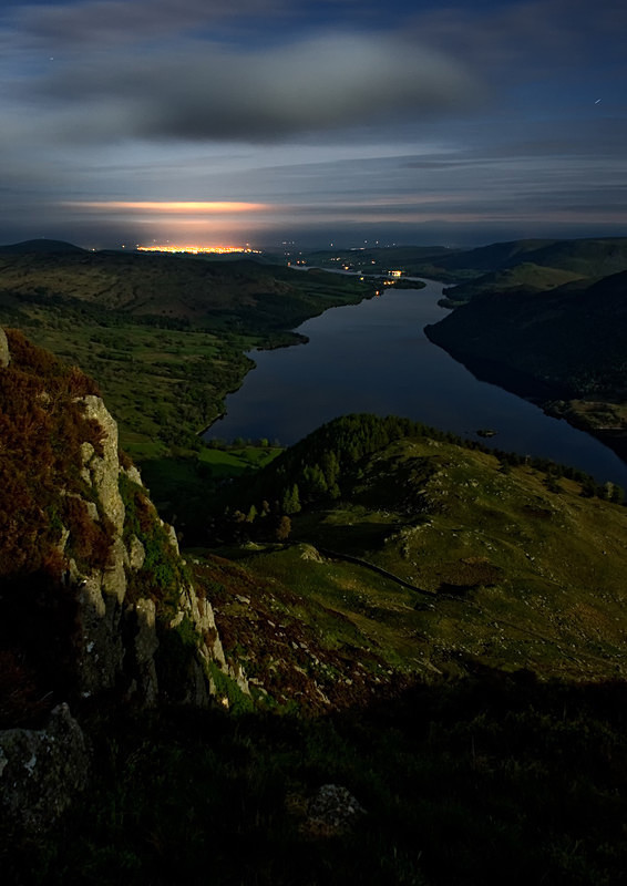 Lake District photography workshops, courses and tours Distant glow - Ullswater