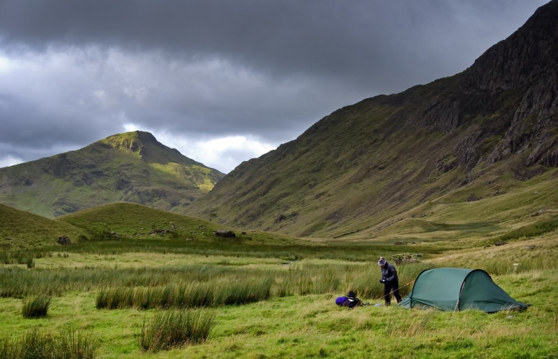 snowdonia photography wild camp course