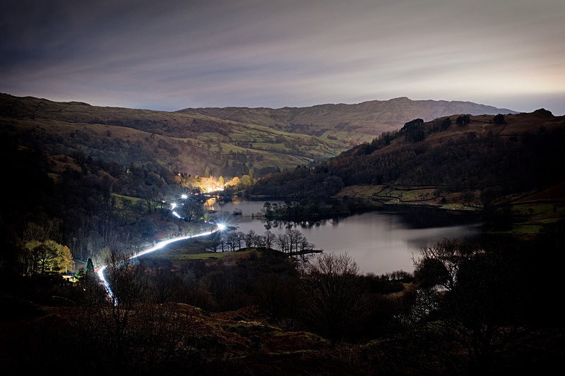 Lake District photography courses, workshops and  tours Passing by - Rydal Water