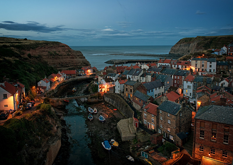 Staithes by Night, Photography Course