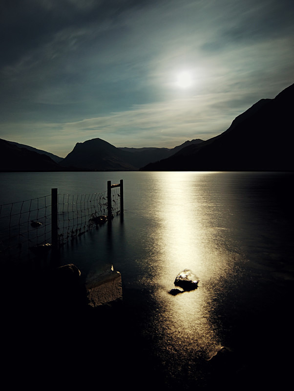 Lake District photography courses, workshops and photography tours Buttermere by moonlight