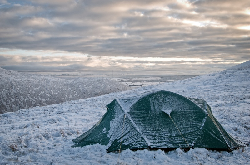 northern fells winter photography tour in the  Lake District