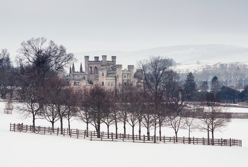 Lowther Castle, Harsh Winter