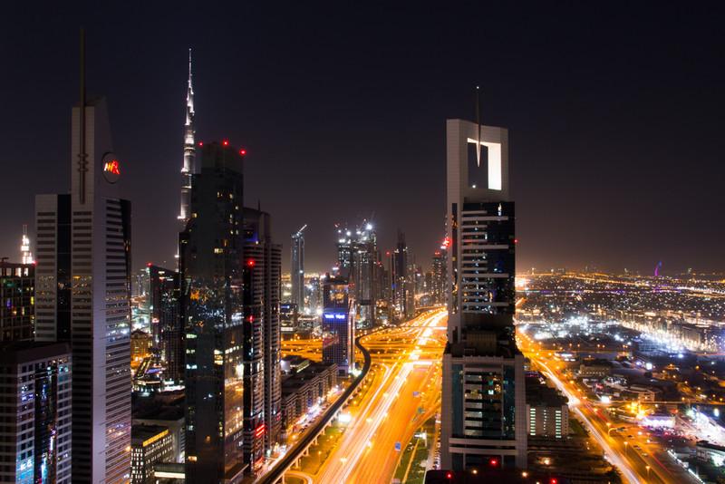 Electric Light Show - Dubai