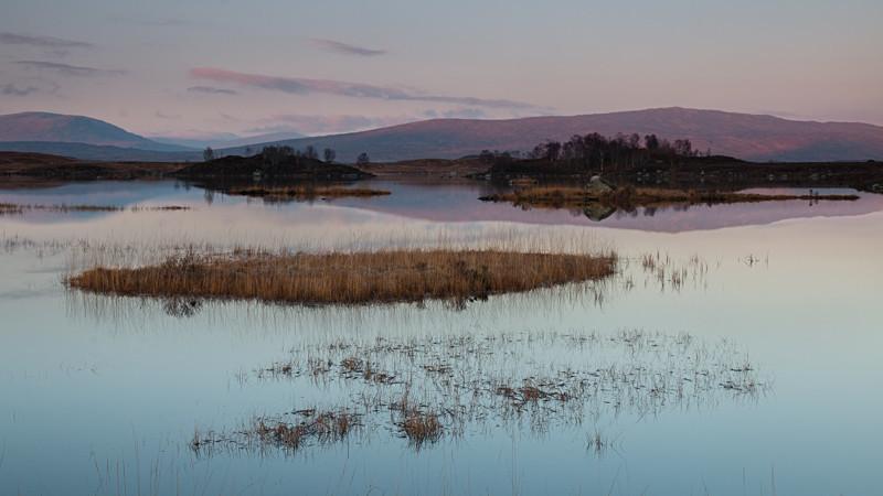 Layers at Loch Ba