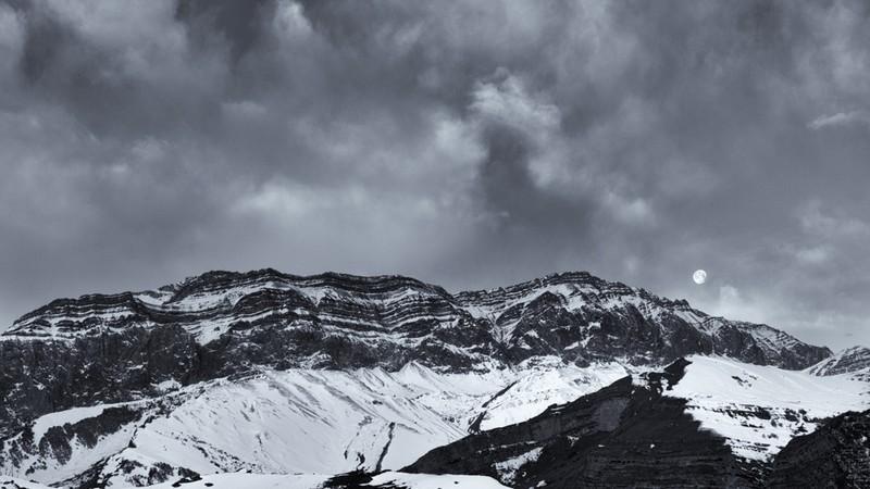 Shahdag Moonset - Azerbaijan