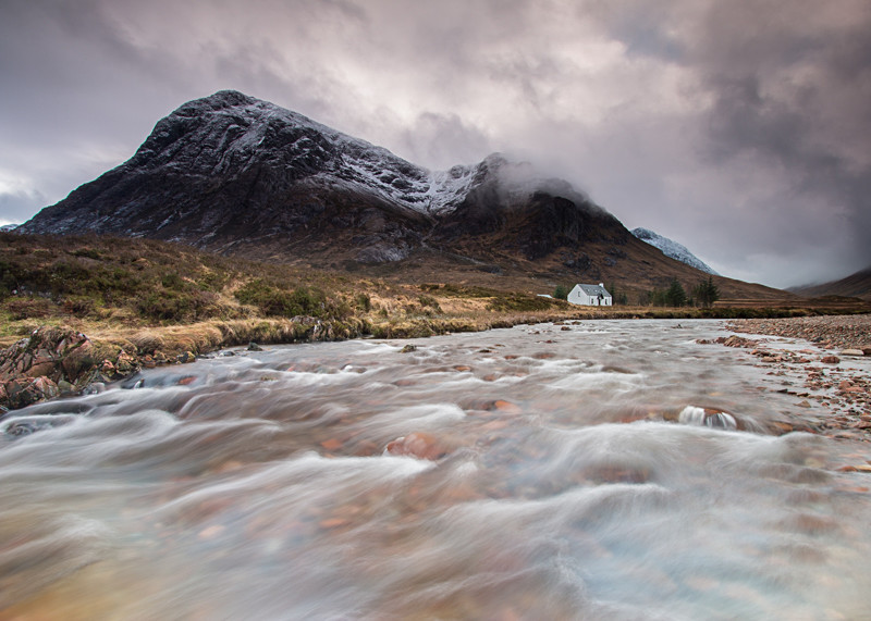 Break in the Storm - River Coupall Glencoe