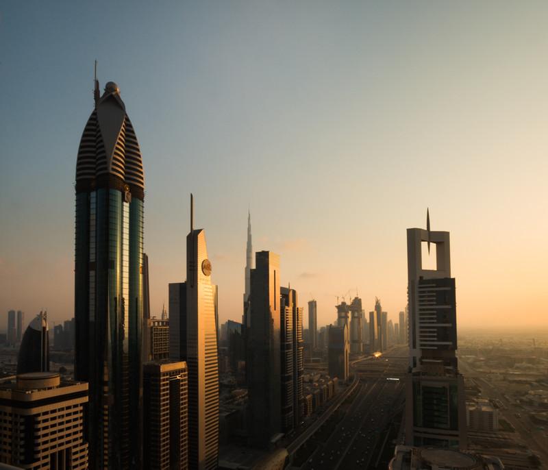 Dusk in Dubai - Dubai