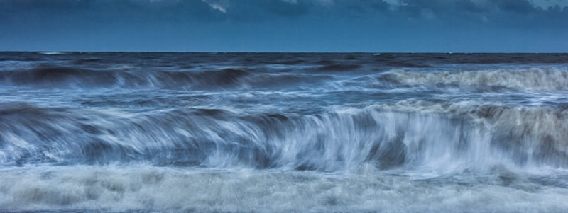 Wave action - England