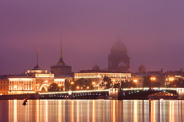 St Petersburg at Dawn