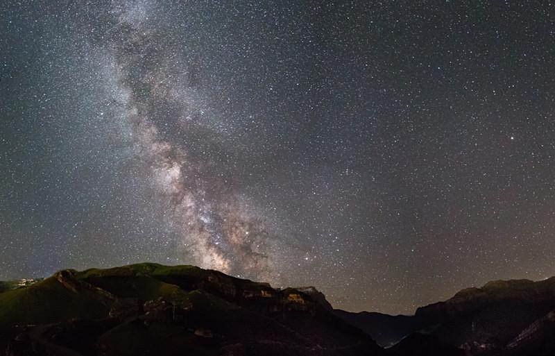 Milky Way Shahdag - Azerbaijan