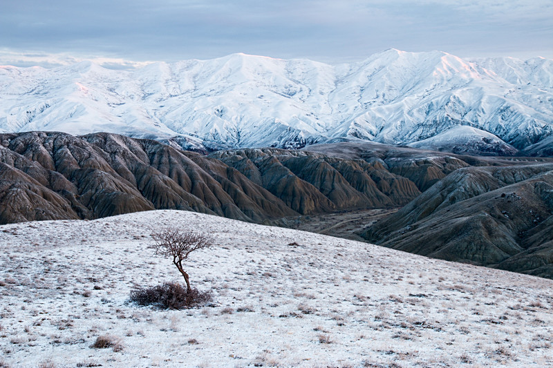 Azerbaijan winter landscape photography