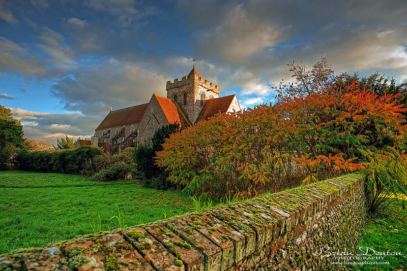 Autumn Priory - Castles & Churches