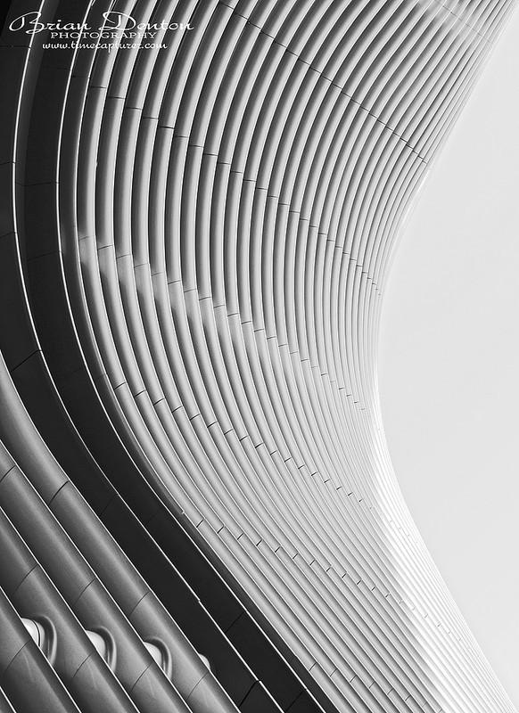 Walbrook Lines - Monochrome (Black & White)