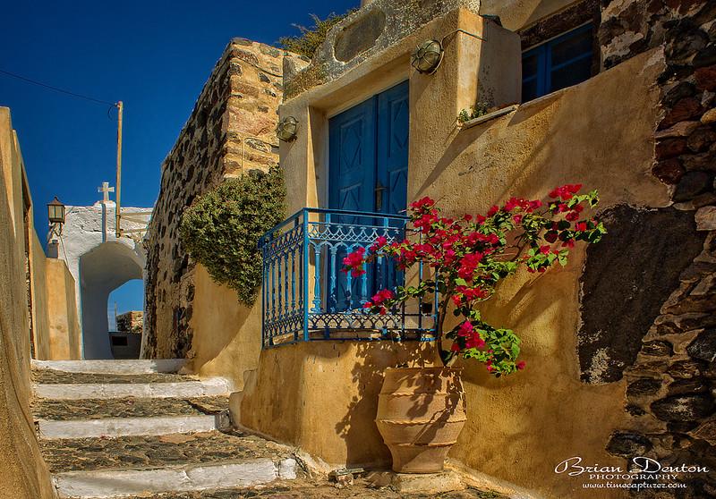 Pyrgos Steps - Greek Islands