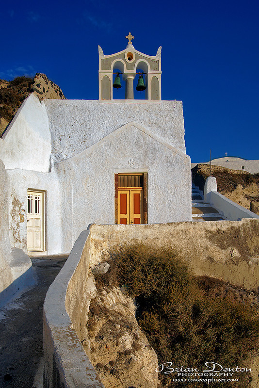 The Church In The Rocks - Greek Islands