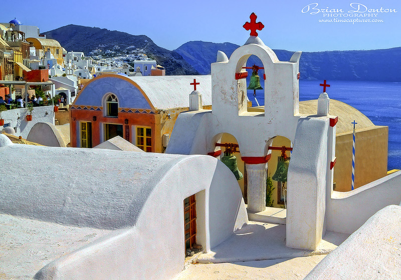 Oia White And Blue - Greek Islands