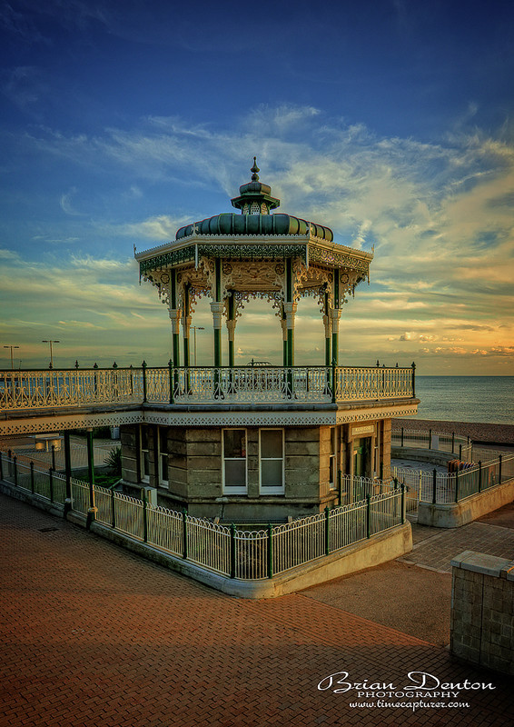 Sunset On The Bandstand - Sussex & Brighton