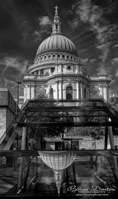 Inverted Dome - Monochrome (Black & White)