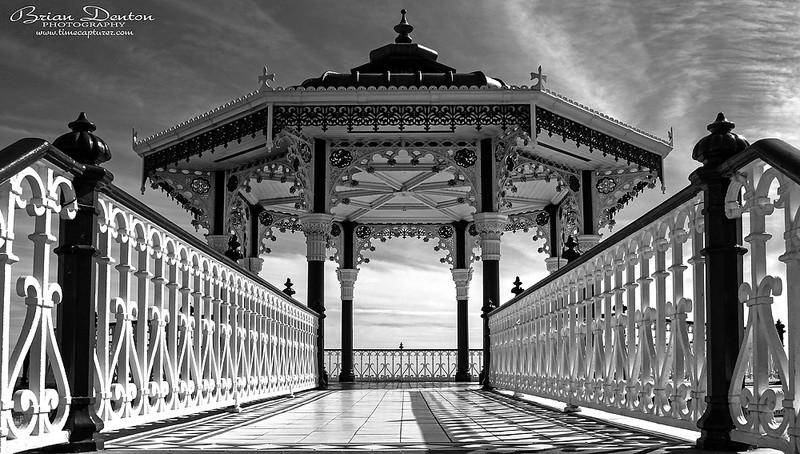 Step Onto The Bandstand - Monochrome (Black & White)