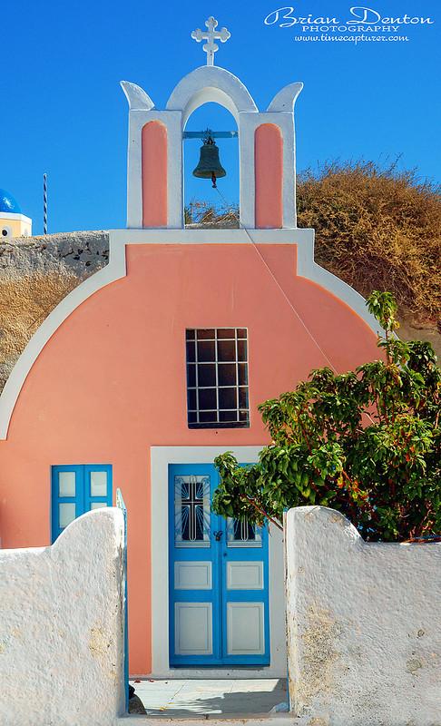 Little Pink Church - Greek Islands