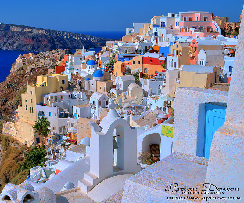 A View Of Oia - Greek Islands
