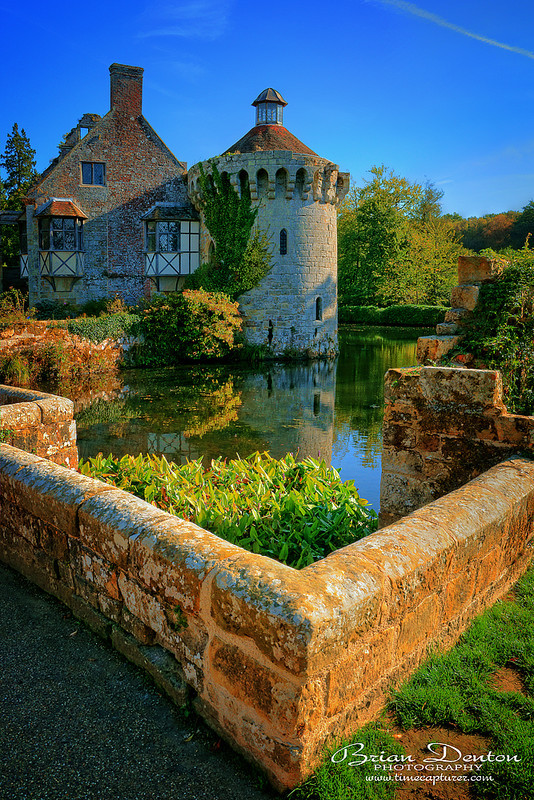 The Moat Wall - Castles & Churches