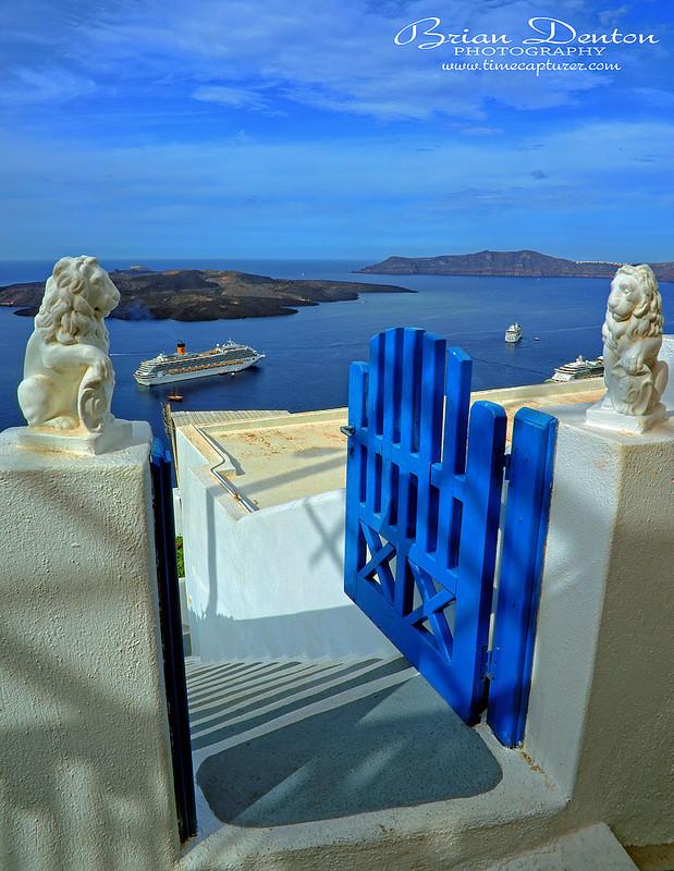 Two Lions - Greek Islands