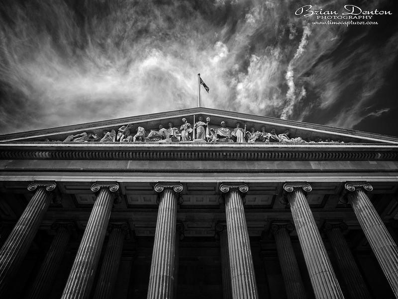 Pillars Of Time MONO - Monochrome (Black & White)