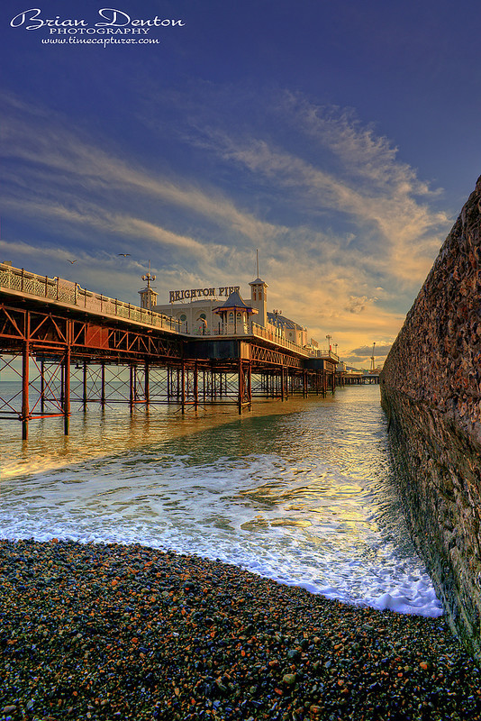 Pebbles Under The Pier - Sussex & Brighton