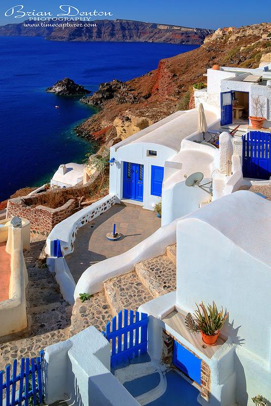 Blue Doors And Gates - Greek Islands