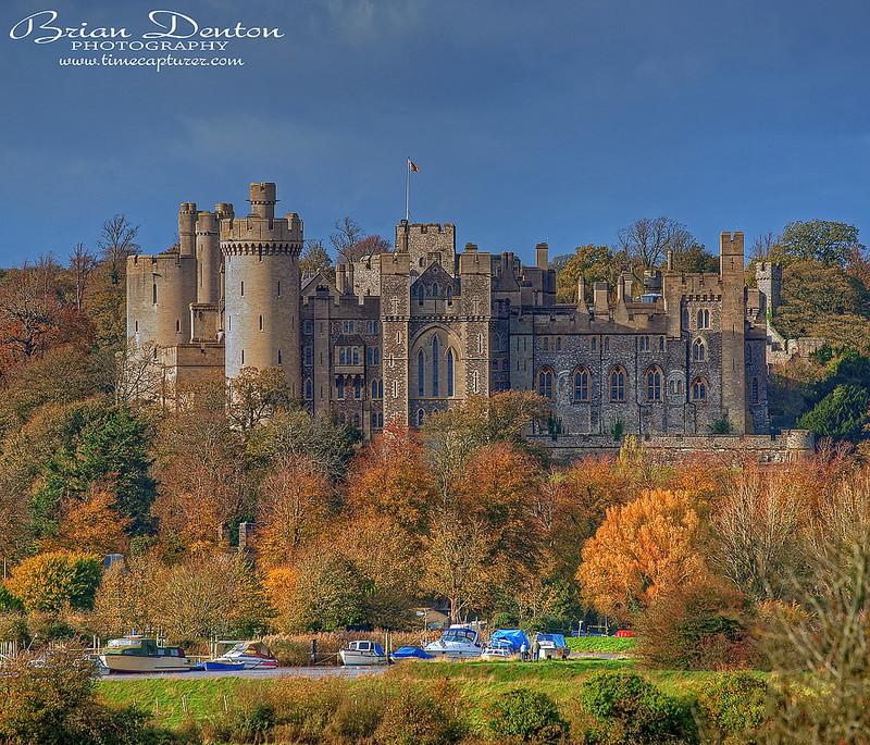 Arundel Autumn - Castles & Churches