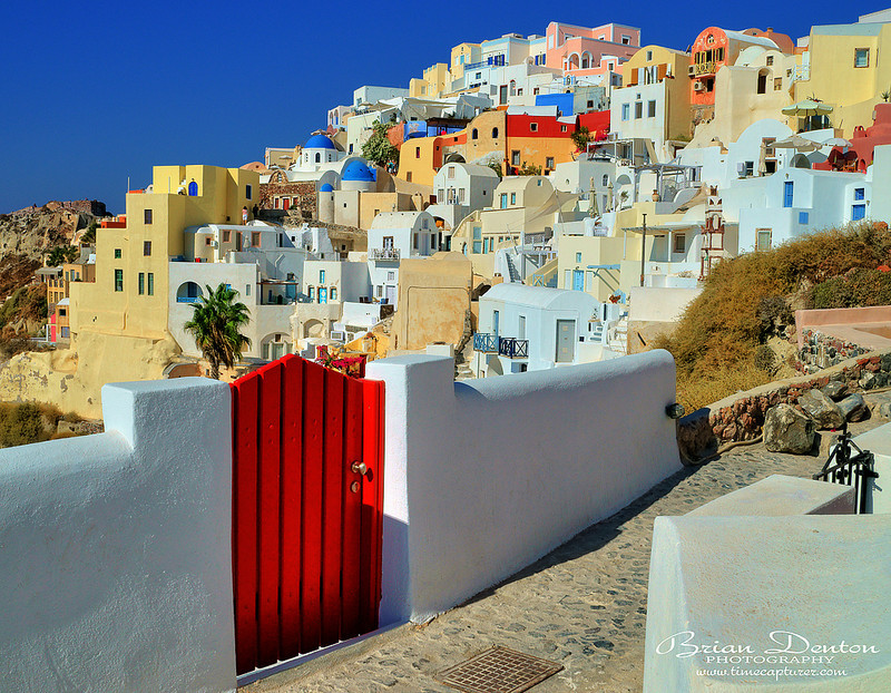 The Red Gate - Greek Islands