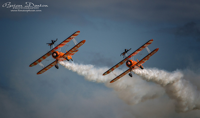 Breitling Wing Walkers - Aircraft & Locomotives