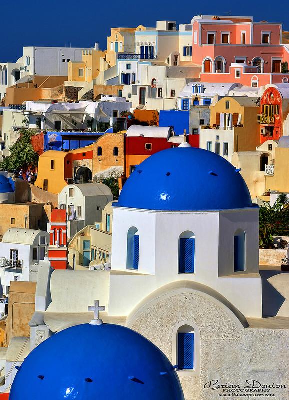 Blue Domes - Greek Islands