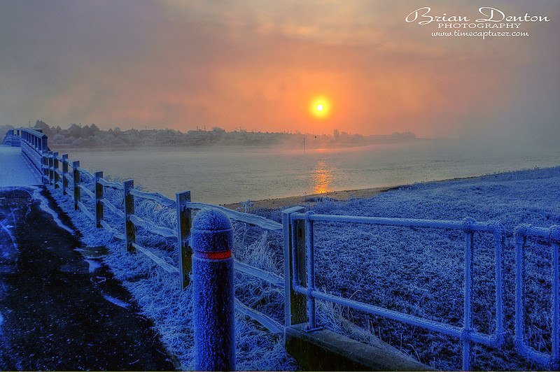 Frost And Mist - Adur Valley & Shoreham-by-sea
