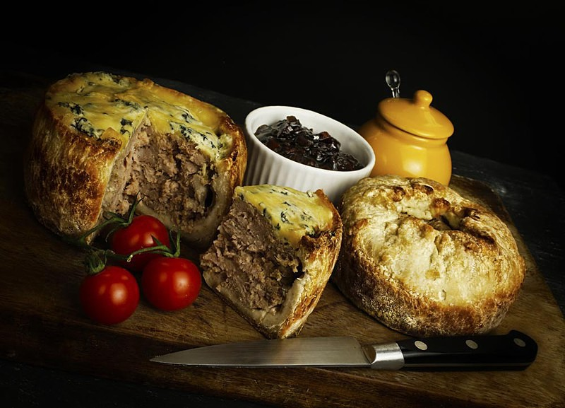 Smith Hall Pork Pie - Product