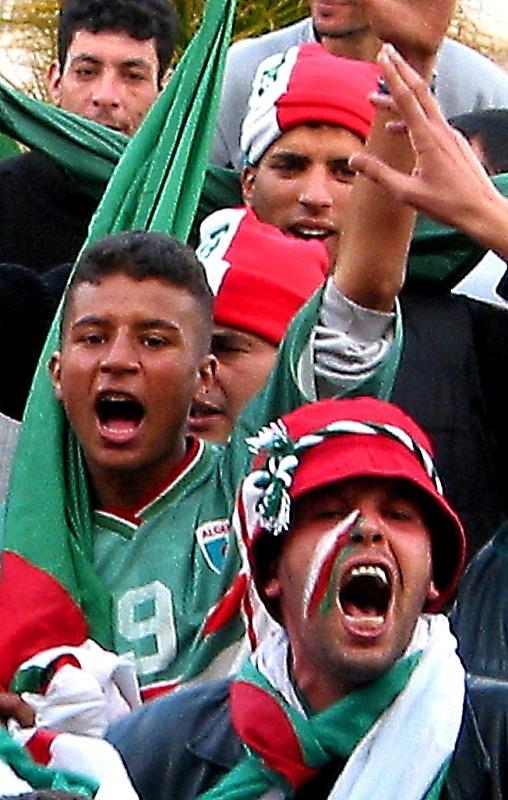 Algeria fan, CAN Tunisia - Sport
