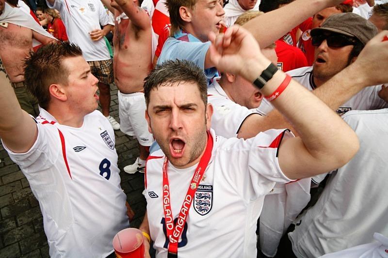 England fans, WC2006 - Sport