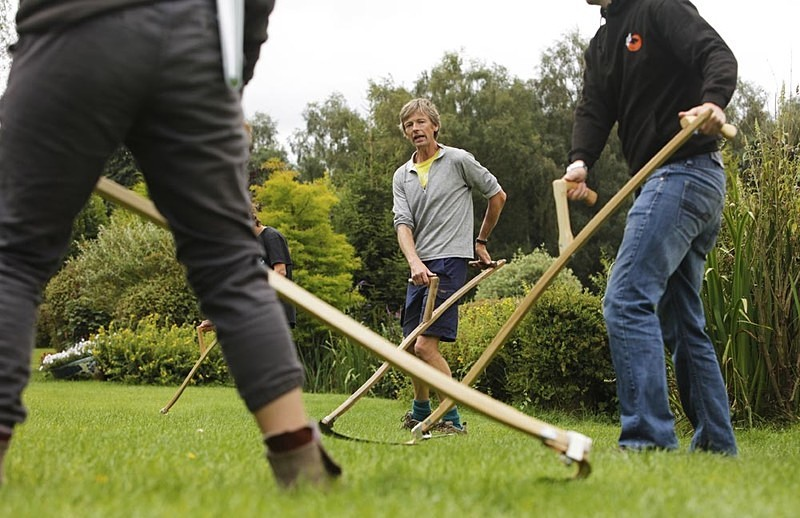 Greenwood Days, Scything Course - Editorial/Features