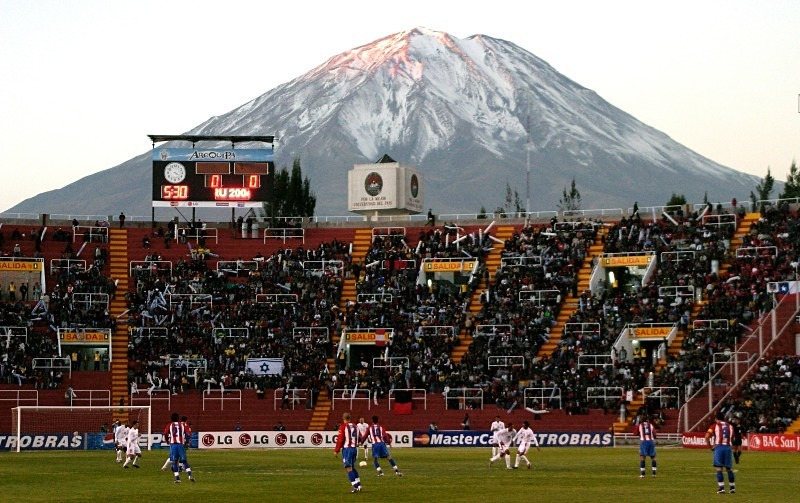 Volcano background, Arequipa - Sport