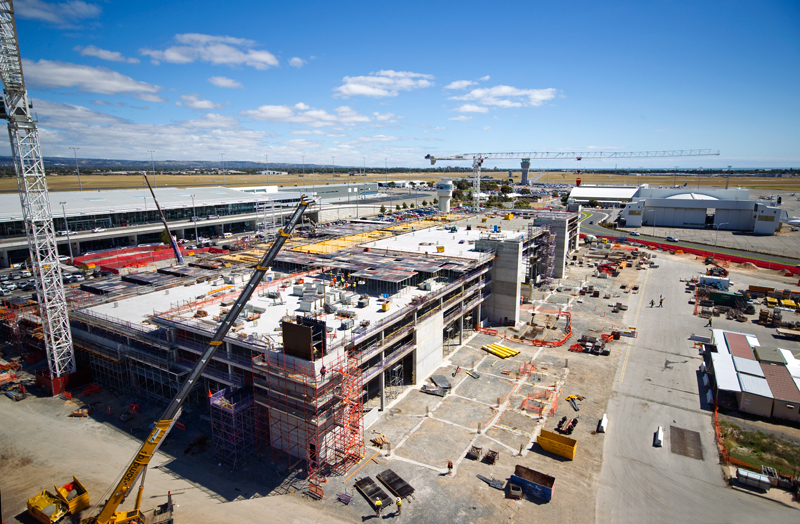 - Adelaide Airport
