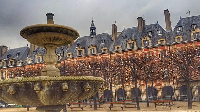 Place des Vosges, Paris - Paris ma belle