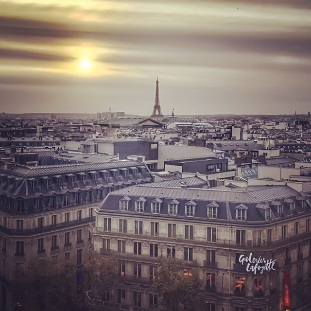 View from Galeries Lafayette - Paris ma belle