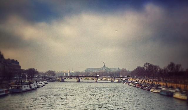 Distant view of the Grand Palais, Paris - Paris ma belle